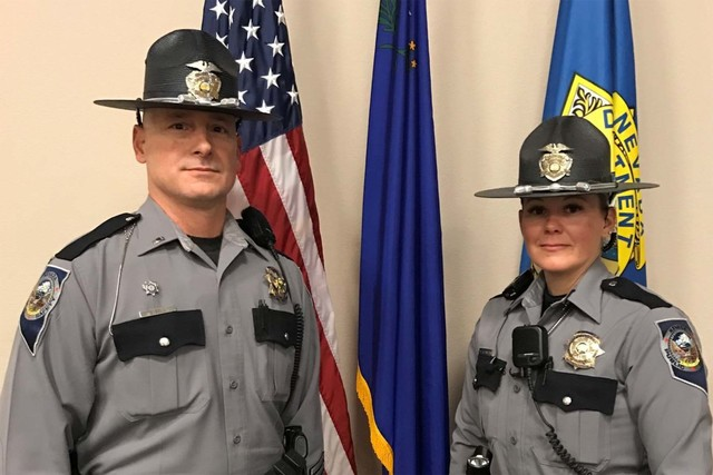 The Nevada Highway Patrol will have new uniforms starting in January. (Nevada Highway Patrol)