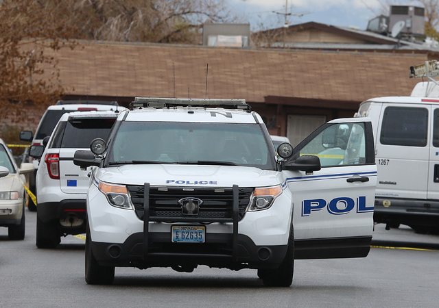 Police are investigating an arson what they say is a ҳuspicious deathӠthat might be linked to the arson on the 300 block of Princess Avenue in North Las Vegas on Thursday, Dec. 22, 201 ...