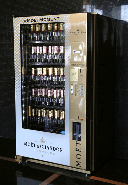 Champagne Vending Machine In Las Vegas Is Only One Of Its