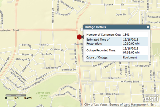 Naples Power Outage Map.Www Reviewjournal Com Wp Content Uploads 2016 12 W