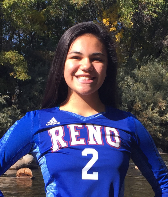 Karson Nakagawa, Reno: The sophomore setter was a first-team All-High Desert League pick and helped the Huskies reach the Class 4A state final. Nakagawa had 55 assists and three aces in the Northe ...