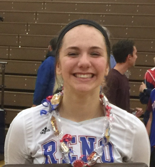 Parker Buddy, Reno: The junior outside hitter was the Class 4A High Desert League Player of the Year. Buddy posted a career-high 25 kills in a five-set victory over Douglas in the Northern Region  ...