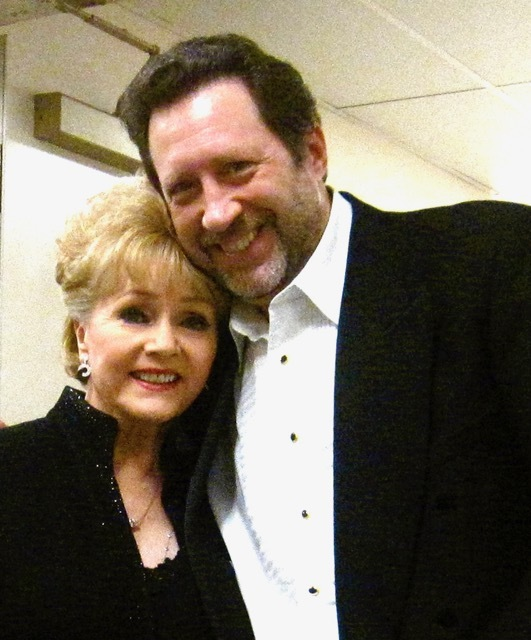 Debbie Reynolds and Joey Singer worked together for three decades, dating to a Valentine's Day show at Harrah's in Reno in 1985. (Courtesy photo)