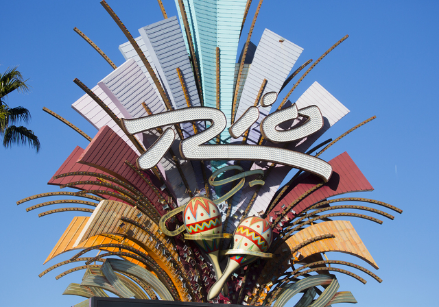 The Rio was evacuated after another electrical fire broke out at the resort on Thursday, Dec. 29, 2016. (Jeff Scheid/Las Vegas Review-Journal) @jeffscheid