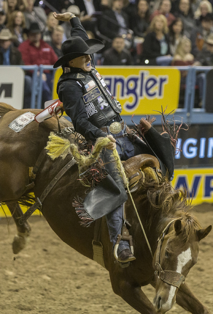 2016 National Finals Rodeo Ninth Go Round Results Las