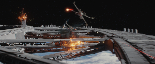 """X-Wing fighters in """"Rogue One: A Star Wars Story. (Lucasfilm/ILM)"""