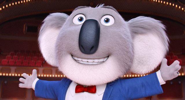 "Academy Award® winner MATTHEW MCCONAUGHEY stars as dapper koala Buster Moon—who presides over a once-grand theater that has fallen on hard times—in the event film ""Sing ..."