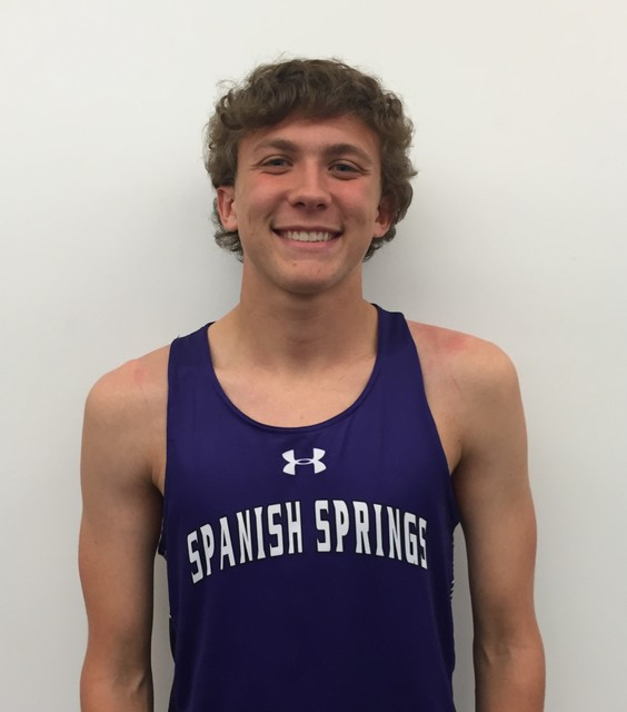 Andrew Ribeiro, Spanish Springs: The junior finished sixth at the Class 4A state meet in 15:44. He was sixth at the Northern Region meet in 17:14.
