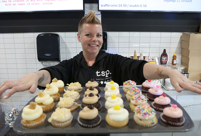 TSP Baking owner Kari Garcia at her store on 6120 N. Decatur Blvd. on Thursday, Dec. 22, 2016, in Las Vegas. (Bizuayehu Tesfaye/Las Vegas Review-Journal) @bizutesfaye