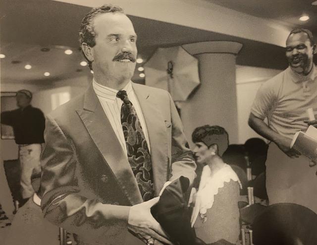 This Feb. 2, 1994 file photo shows UNLV coach Jeff Horton. (Wayne Kodey/Las Vegas Review-Journal)