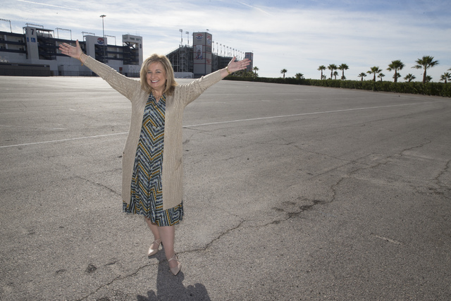 Paulette Anderson, Las Vegas Chapter Director of the Speedway Children's Charities, at the Las Vegas Motor Speedway on Tuesday, Dec. 13, 2016, in Las Vegas. Erik Verduzco/Las Vegas Review-Journal  ...