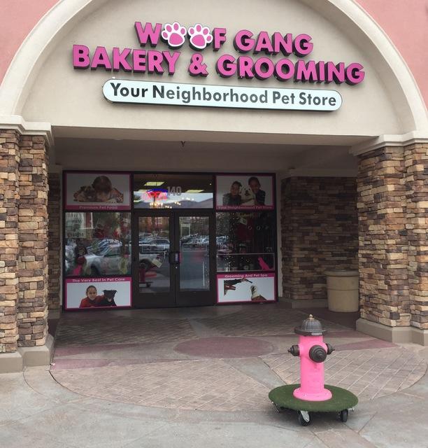 The entrance of Woof Gang Bakery & Grooming in Las Vegas on Wednesday, Dec. 21, 2016. (Raven Jackson/Las Vegas Review-Journal) @ravenmjackson