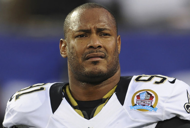 New Orleans defensive end Will Smith, seen in 2012 (The Associated Press file)