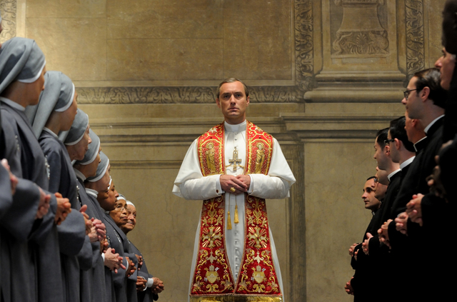 "Jude Law stars in ""The Young Pope."" photo: HBO"