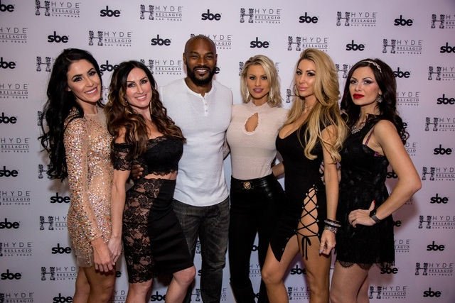 Tyson Beckford at Hyde Bellagio on Friday, Jan. 20, 2017, in Las Vegas. (Hyde Bellagio)