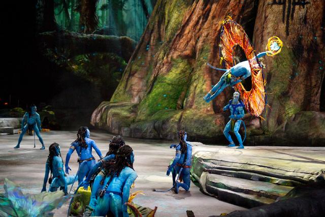 "Cirque du Soleil's ""Toruk — The First Flight"" will run at T-Mobile Arena Wednesday through Jan. 22. (Youssef Shoufan)"