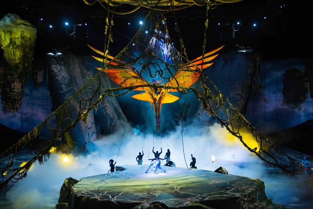 """Toruk: The First Flight"" by Cirque du Soleil. (Errisson Lawrence)"