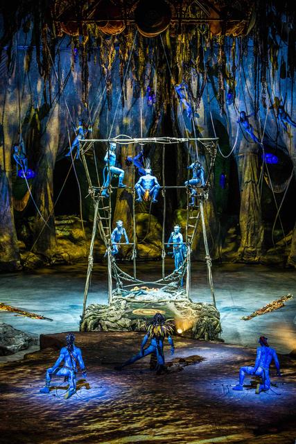 """Toruk: The First Flight"" by Cirque du Soleil. (Jesse Faatz)"