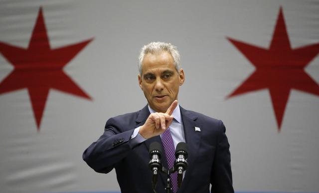 Chicago Mayor Rahm Emanuel speaks at an event in Chicago, Sept. 21, 2016. (Charles Rex Arbogast/AP, File)