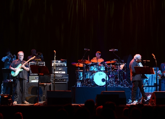 Legendary Steely Dan performed last Friday at The Pearl at the Palms.