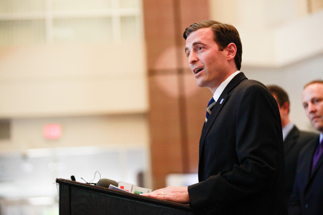 Attorney General Adam Laxalt appears to be the front-runner for the Republican nomination for governor in 2018. (Las Vegas Review-Journal)