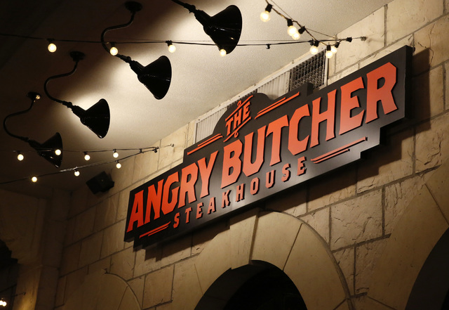 The Angry Butcher Steakhouse at Sam's Town hotel-casino, Friday, Dec. 23, 2016 in Las Vegas. (David Guzman/Las Vegas Review-Journal) @DavidGuzman1985