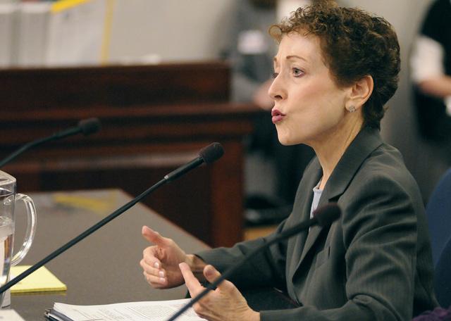 Sen. Valerie Wiener, D-Las Vegas. (Kevin Clifford/AP Photo/Nevada Appeal).