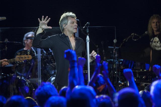 SiriusXM Presents Bon Jovi Live at the Faena Theater during Art Basel on Saturday, Dec. 3, 2016, in Miami Beach, Fla (Jesus Aranguren/Invision/AP)
