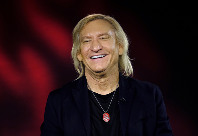 This Friday, July 8, 2016 photo musician, Joe Walsh talks during an interview in LosAngeles. (AP Photo/Richard Vogel)