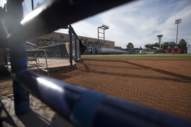 Cashman Field is seen before the start of the last game of the season for the Las Vegas 51s on Saturday, Aug. 27, 2016, in Las Vegas. (Erik Verduzco/Las Vegas Review-Journal) Follow @Erik_Verduzco