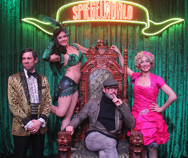 "Billy Zane at ""Absinthe"" at Caesars Palace on Sunday, Jan. 8, 2017, in Las Vegas. (Joseph Sanders/Spiegelworld)"