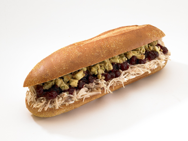 The Bobbie from Capriotti's (Courtesy)