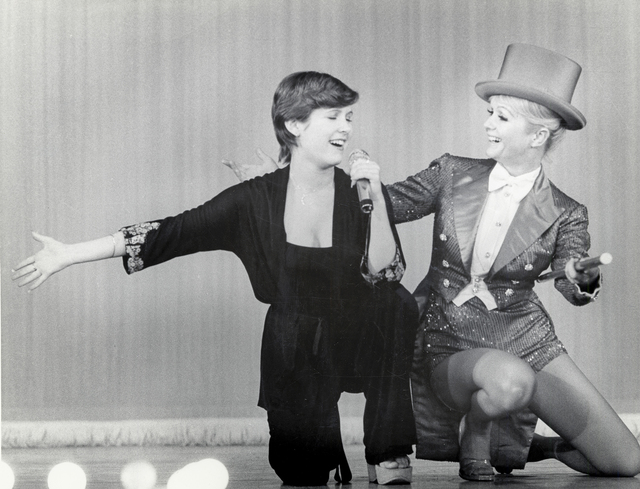 Carrie Fisher, left, and Debbie Reynolds. (Fisher Family Archives/HBO)