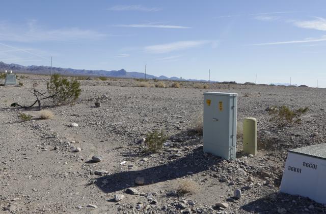 Vacant lots at failed Arroyo Vista Heights subdivision project on Corwin Road in Bullhead City, Ariz., on Thursday, Jan 6, 2017. (Bizuayehu Tesfaye/Las Vegas Review-Journal)@bizutesfaye