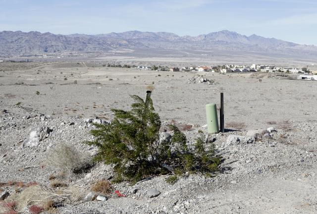 Vacant lots at partially build subdivision on Park Place Lane and Montano Ridge Drive in Bullhead City, Ariz., on Thursday, Jan 6, 2017. (Bizuayehu Tesfaye/Las Vegas Review-Journal)@bizutesfaye