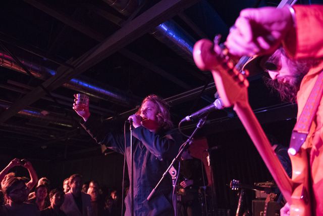 Ty Segall & The Muggers performs at Bunkhouse Saloon during final night of the Neon Reverb music festival in downtown Las Vegas, March 13, 2016. (Jason Ogulnik/Las Vegas Review-Journal)