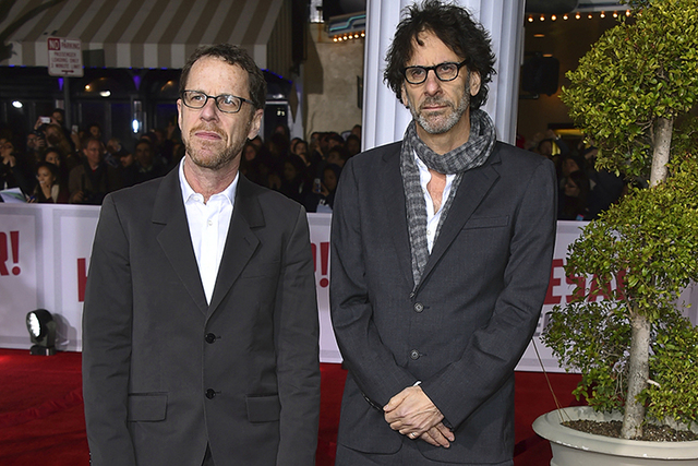 Ethan Coen, left, and Joel Coen (Jordan Strauss/Invision/AP)