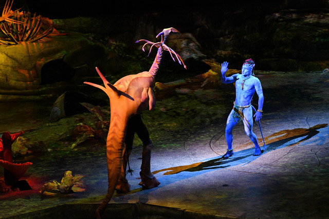 Puppetry helps Cirque du Soleil bring the 'Avatar' world of Pandora to life in 'Toruk - The First Flight.' (Courtesy)