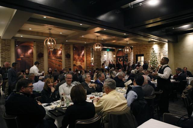 Guests orders are taken at Nora's Italian Cuisine on Friday, Jan. 6, 2017, in Las Vegas. (Christian K. Lee/Las Vegas Review-Journal) @chrisklee_jpeg