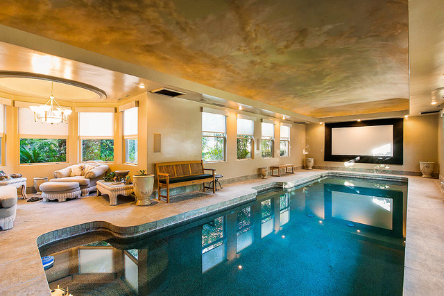 The indoor pool.  (Courtesy)