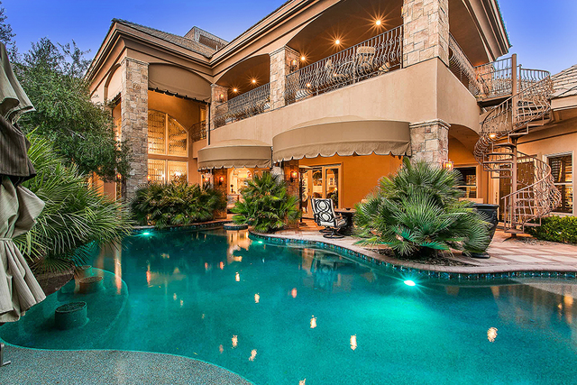 The pool at the main house. (Courtesy)
