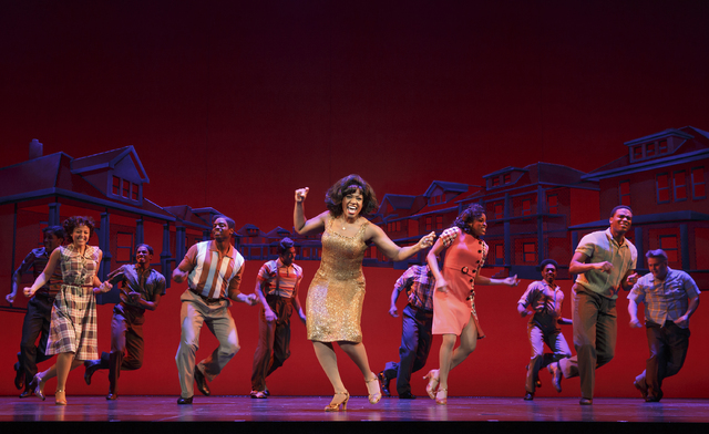 """The sound of young America"" inspires ""Motown the Musical's"" second national tour, which begins Tuesday at The Smith Center's Reynolds Hall. JOAN MARCUS/SMITH CENTER FOR THE PERFORMING ARTS"