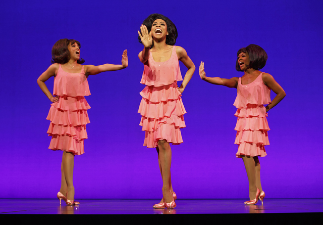 """Motown the Musical"" re-creates the Supremes' glory days -- and several of their hits -- as the show opens its national tour Tuesday in Las Vegas. JOAN MARCUS/SMITH CENTER FOR THE PERFORMING ARTS  ..."