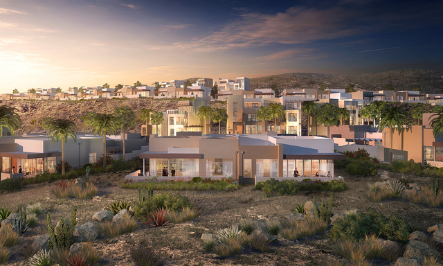 COURTESY Christopher Homes Vu luxury townhomes will start in price at $735,000.
