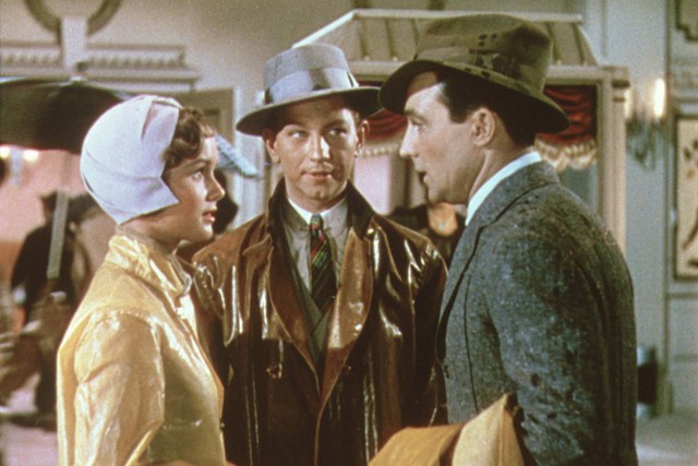 """Singin' in the Rain"" with Debbie Reynolds, Donald O'Connor and Gene Kelly. (Warner Bros. Home Entertainment, Inc.)"