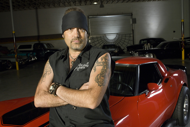 "Danny Koker stars in History's ""Counting Cars."" (Photo by Smallz & Raskind)"