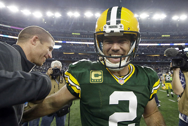 size 40 f4ce1 acca4 Crosby kicks Packers to NFC title game in thriller over ...