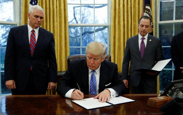 Donald Trump.   REUTERS/Kevin Lamarque