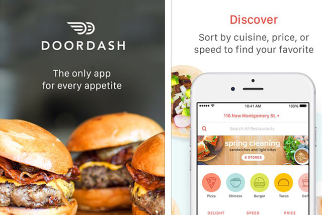 Doordash App Joins Food Delivery Service In Las Vegas