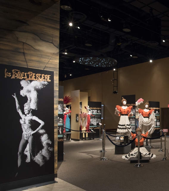 """""""Les Folies Bergère: Entertaining Las Vegas One Rhinestone At A Time"""" exhibition, curated by the Las Vegas News Bureau and the Nevada State Museum, consists of Folies Berg&# ..."""